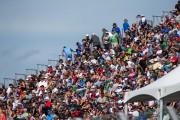 Les spectateurs étaient au rendez-vous tout au long... (Photo: Olivier Croteau Le Nouvelliste) - image 1.1