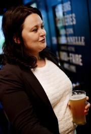 La candidate du NPD dans Québec, Annick Papillon,... (Photothèque Le Soleil, Erick Labbé) - image 3.0