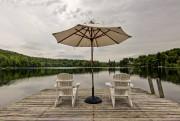 Le quai donne sur le lac Boucané, à... (Photo Mélanie Vallières pour Groupe Sutton Humania) - image 1.1