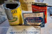 Quelques objets découverts dans le grenier et dans... (Photo: Andréanne Lemire Le Nouvelliste) - image 1.0