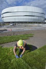 Une fois la structure terminée, l'aménagement paysager a... (Photothèque Le Soleil, Jean-Marie Villeneuve) - image 2.0