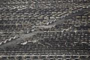 Environ 10 000 voitures importées flambant neuves, alignées... (PHOTO DAMIR SAGOLJ, REUTERS) - image 5.0