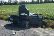 Trois véhicules ont été impliqués dans un accident... (Courtoisie, Service des paramédics d'Ottawa) - image 1.0