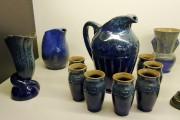 La glaçure bleue moirée a été l'une des... (Photo fournie par le musée Marius-Barbeau) - image 2.0