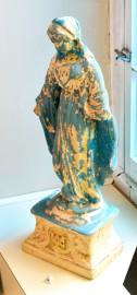 La Vierge bleue de Gaetano Baccerini, conçue vers... (Le Soleil, Jean-Marie Villeneuve) - image 1.0