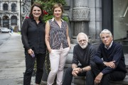 Marie-Thérèse Fortin, Marie-Eve Pelletier, Paul Savoie et Bernard... (PHOTO OLIVIER PONTBRIAND, LA PRESSE) - image 2.0