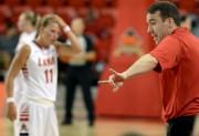 Le nouvel entraîneur-chef de l'équipe féminine de basket... (Le Soleil, Erick Labbé) - image 1.0