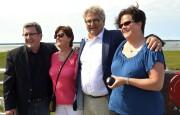 Le maire de Québec, en compagnie de son... (Collaboration spéciale Johanne Fournier) - image 1.0