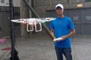 Jonathan Noël, de DroneXperts, sait parfaitement utiliser un... (Le Soleil, Yves Therrien) - image 1.0