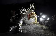 Dismaland, une exposition iconoclaste coordonnée par l'artiste mondialement... (Photo TOBY MELVILLE, Reuters) - image 1.0