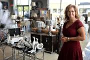 Christine Bouchard accueillera ses premiers clients samedi prochain.... (Le Soleil, Patrice Laroche) - image 1.0
