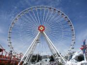 L'autre grande roue du Prater, tout aussi impressionnante,... (PHOTO CATHERINE SCHLAGER, LA PRESSE) - image 2.1