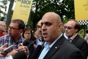 Le président de Taxi Coop, Abdallah Omsy... (Le Soleil, Erick Labbé) - image 1.0