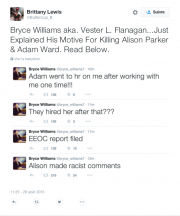 Le tireur a fait quelques commentaires sur Twitter... (CAPTURE D'ÉCRAN) - image 8.1