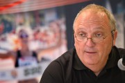 Denis Therrien, grand patron du marathon SSQ Lévis-Québec,... (Le Soleil, Yan Doublet) - image 1.0