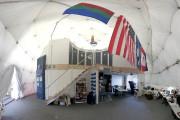 L'intérieur du dôme où les six personnes vont... (Photo Université d'Hawaï, AFP) - image 1.0