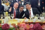 Le président russe Vladimir Poutine s'entretient avec son... (PHOTO ALEXEI DRUZHININ, RIA NOVOSTI/KREMLIN/AP) - image 2.0