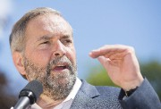 Le chef du NPD, Thomas Mulcair ... (PHOTO ARCHIVES LA PRESSE CANADIENNE) - image 3.0