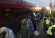 En Hongrie, le trafic ferroviaire a été pleinement... (PHOTO AP) - image 2.0
