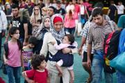 Mardi, 30000 migrants se trouvaient sur les îles... (PHOTO  LOUISA GOULIAMAKI, AFP) - image 1.0
