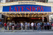 Stephen Colbert devait faire son entrée attendue, mardi soir, dans... (PHOTO AP) - image 2.0
