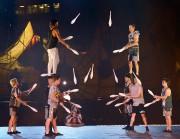 Crépuscule, de la troupe de cirque Flip Fabrique... (Photothèque Le Soleil, Yan Doublet) - image 1.0