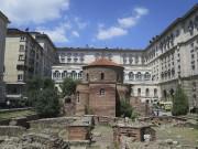 La rotonde Saint-Georges est cachés dans la cour... (Photo Louis-Samuel Perron, La Presse) - image 1.1