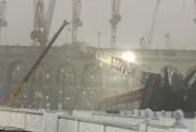 Une grue s'est écroulée sur la Grande mosquée... (PHOTO TIRÉE DE TWITTER) - image 1.1
