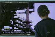 Le lancement de la fusée Unha-3 il y... (PHOTO AP) - image 2.0