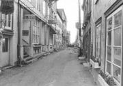 On peut voir ici la rue du Petit-Champlain... (Archives Le Soleil) - image 1.0