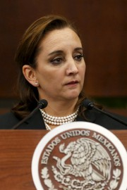 Claudia Ruiz Massieu... (PHOTO REUTERS) - image 2.0