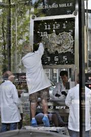 Une équipe de l'école d'horlogerie de Trois-Rivières a... (Le Soleil, Patrice Laroche) - image 1.0