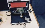 L'horloge numérique que les autorités policières ont prise... (AFP) - image 1.0