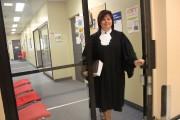 L'avocate Mélanie Ricard avoue qu'elle a pris l'habitude... (Photo: Audrey Tremblay, Le Nouvelliste) - image 1.0