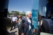 Le chef du Bloc québécois, Gilles Duceppe, lors... (PHOTO MARCO CAMPANOZZI, LA PRESSE) - image 1.0