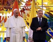 François a aussi rendu une visite de courtoisie... (PHOTO AFP) - image 2.0