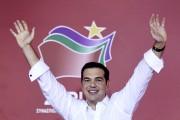 Avec 145 députés élus, Alexis Tsipras, 41 ans,... (PHOTO ARIS MESSINIS, AFP) - image 2.0