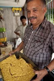 Shivananda, l'un des trois frères descendant du cuisinier... (PHOTO MARIE-SOLEIL DESAUTELS, LA PRESSE) - image 1.1