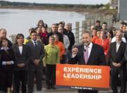 Le chef du NDP Thomas Mulcair s'est adressé... (La Presse Canadienne, Andrew Vaughan) - image 1.0