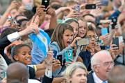 La foule était fébrile à l'arrivée du pape,... (AP, Susan Walsh) - image 3.0