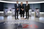 Les animateurs du grand débat, Yves Boisvert (à... (Bernard Brault, La Presse) - image 2.0
