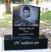 La photo d'Aylan Kurdi demeurera gravée dans l'imaginaire... (Photo fournie) - image 1.0