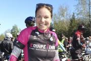 Marie-Andrée Désilets a relevé le défi avec l'Équipe... (Photo: Audrey Tremblay) - image 1.0