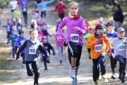 Les jeunes ont couru 1 km dans le... (Photo: Andréanne Lemire, Le Nouvelliste) - image 1.0
