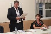 L'annonce des résultats s'est effectuée vers 20 h... (Photo: Audrey Tremblay, Le Nouvelliste) - image 1.0