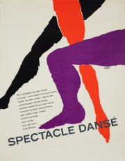Spectacle dansé, 1965, de Vittorio Fiorucci, sérigraphie. Prêt... (Photo fournie par le musée McCord) - image 1.0