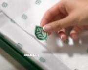Le célèbre logo et la boîte verte emblématique... (Photo fournie par Simons) - image 1.1