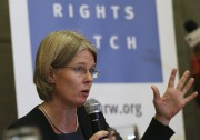 Juliane Kippenberg, de Human Rights Watch... (AP, Aaron Favila) - image 7.0