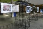 L'oeuvre a été retirée et placée derrière un... (Patrick Woodbury, LeDroit) - image 4.0