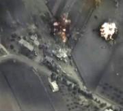 Cette image tirée d'une vidéo diffusée par Moscou... (IMAGE MINISTÈRE RUSSE DE LA DÉFENSE/REUTERS) - image 1.1